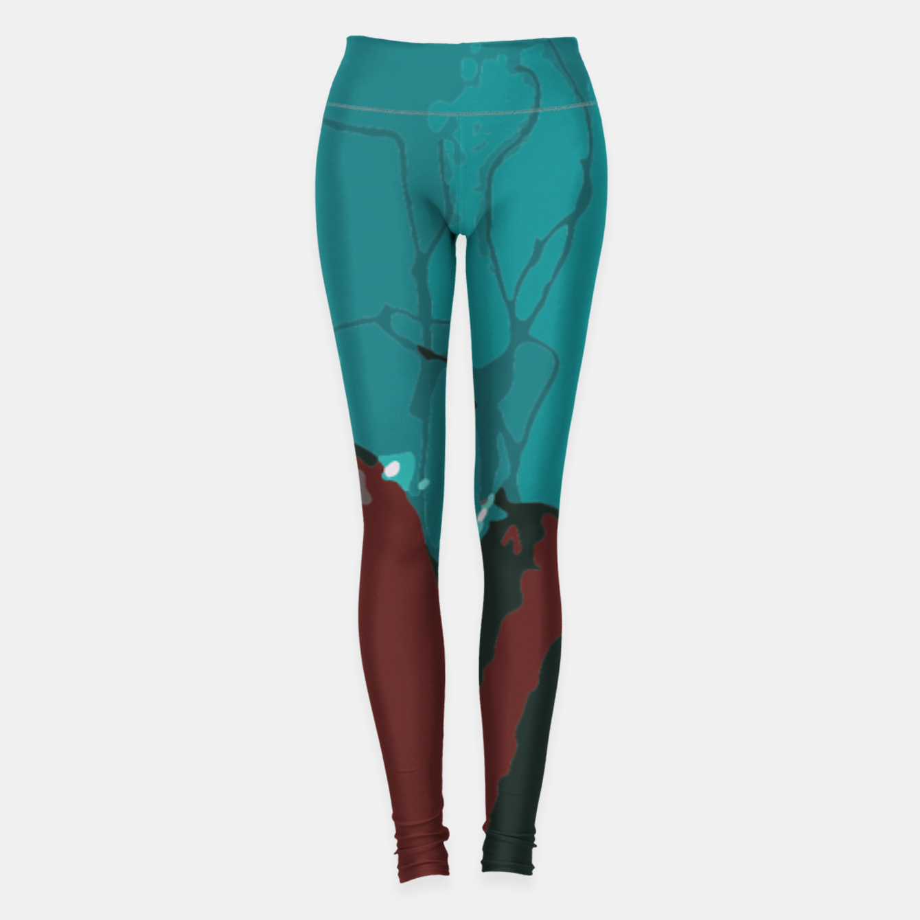 Image of Underwater clouds Leggings - Live Heroes
