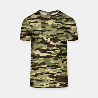 Thumbnail image of Camouflage Pattern T-Shirt, Live Heroes