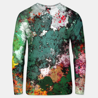 Breaking through rocks Unisex sweater thumbnail image