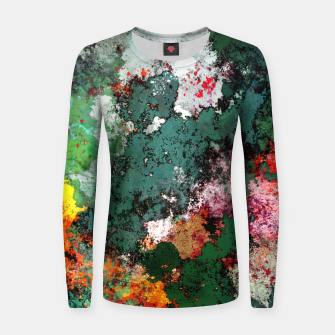 Breaking through rocks Women sweater thumbnail image