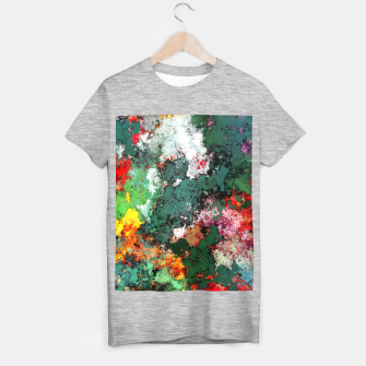 Breaking through rocks T-shirt regular thumbnail image