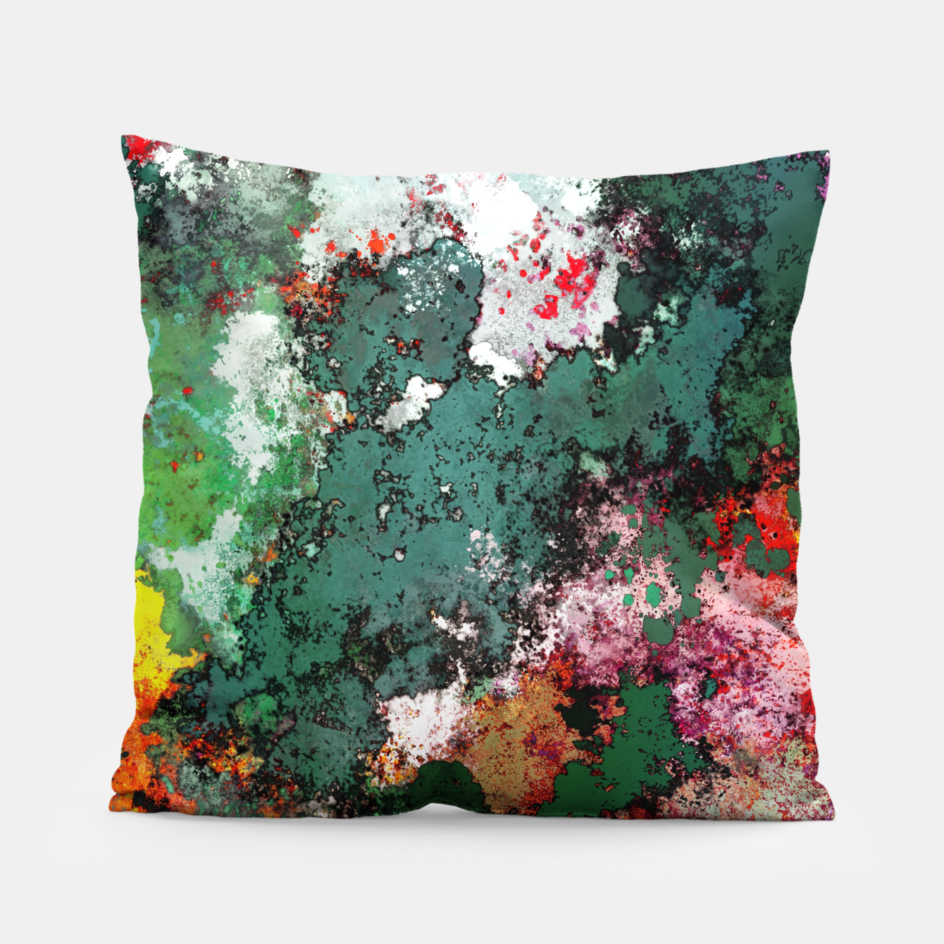 Image of Breaking through rocks Pillow - Live Heroes