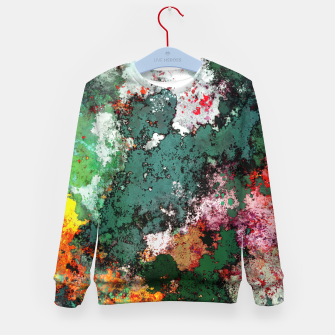 Thumbnail image of Breaking through rocks Kid's sweater, Live Heroes