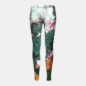 Miniatur Breaking through rocks Girl's leggings, Live Heroes