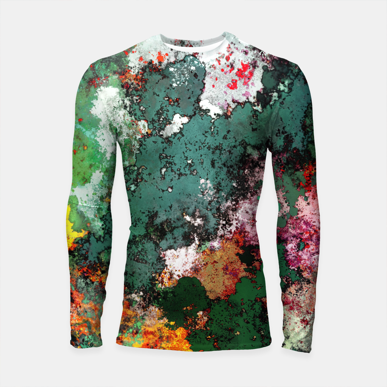 Image of Breaking through rocks Longsleeve rashguard  - Live Heroes