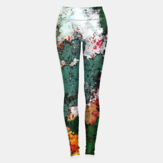 Thumbnail image of Breaking through rocks Leggings, Live Heroes