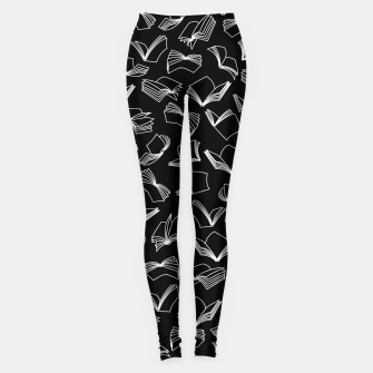 Bookaholic Dreams Leggings Bild der Miniatur