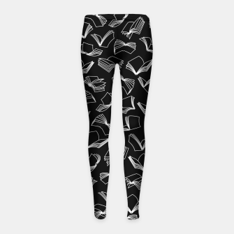 Thumbnail image of Bookaholic Dreams Girl's leggings, Live Heroes