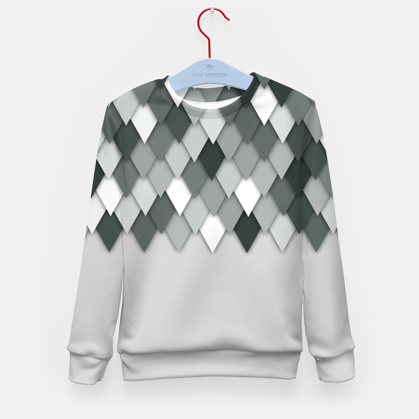 Image of flipflaps  Kid's sweater - Live Heroes