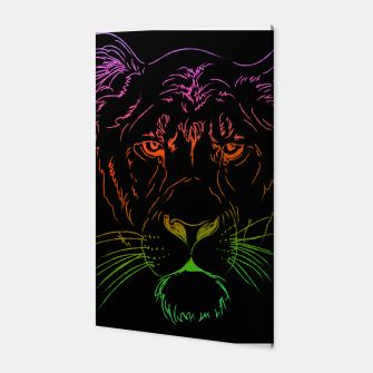Thumbnail image of  Lioness Canvas, Live Heroes
