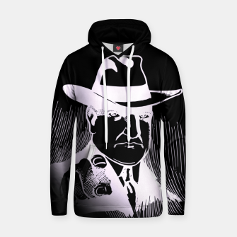 Thumbnail image of The man in the hat Sudadera con capucha, Live Heroes