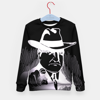 Thumbnail image of The man in the hat Sudadera para niños, Live Heroes