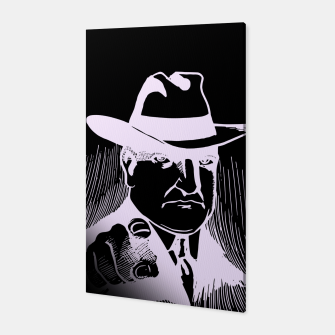 Thumbnail image of The man in the hat Canvas, Live Heroes