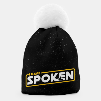 I have spoken - The Mandalorian Beanie thumbnail image