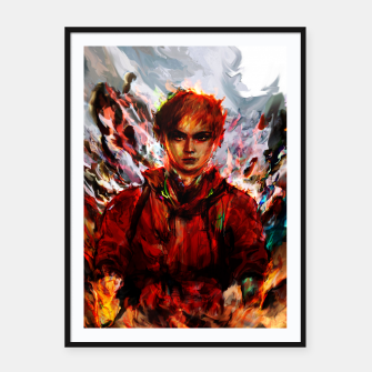 Thumbnail image of akira Framed poster, Live Heroes
