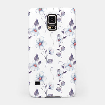 Thumbnail image of White flowers Samsung Case, Live Heroes