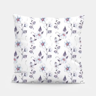 Thumbnail image of White flowers Pillow, Live Heroes