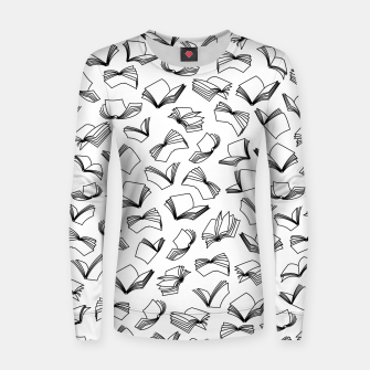 Thumbnail image of Bookaholic Dreams II Women sweater, Live Heroes