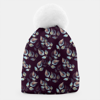 Thumbnail image of Pattern of leaves Beanie, Live Heroes