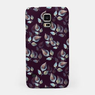 Thumbnail image of Pattern of leaves Samsung Case, Live Heroes