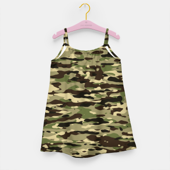 Thumbnail image of Camouflage Pattern Mädchenkleid, Live Heroes