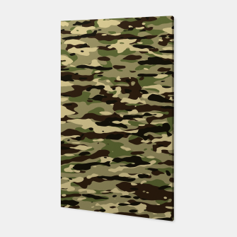 Thumbnail image of Camouflage Pattern Canvas, Live Heroes