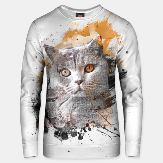 Thumbnail image of cat art #cat #kitty Bluza unisex, Live Heroes