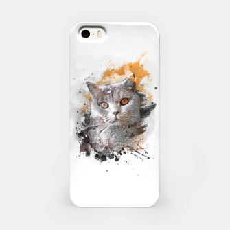 Miniature de image de cat art #cat #kitty Obudowa iPhone, Live Heroes