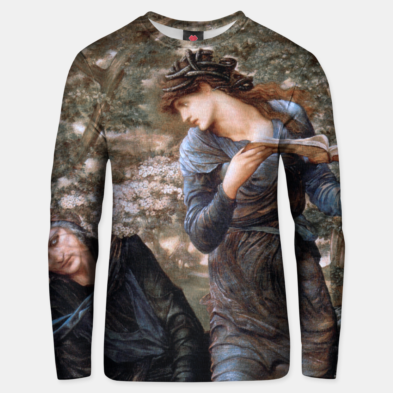Image of The Beguiling of Merlin by Edward Burne-Jones Unisex sweater - Live Heroes