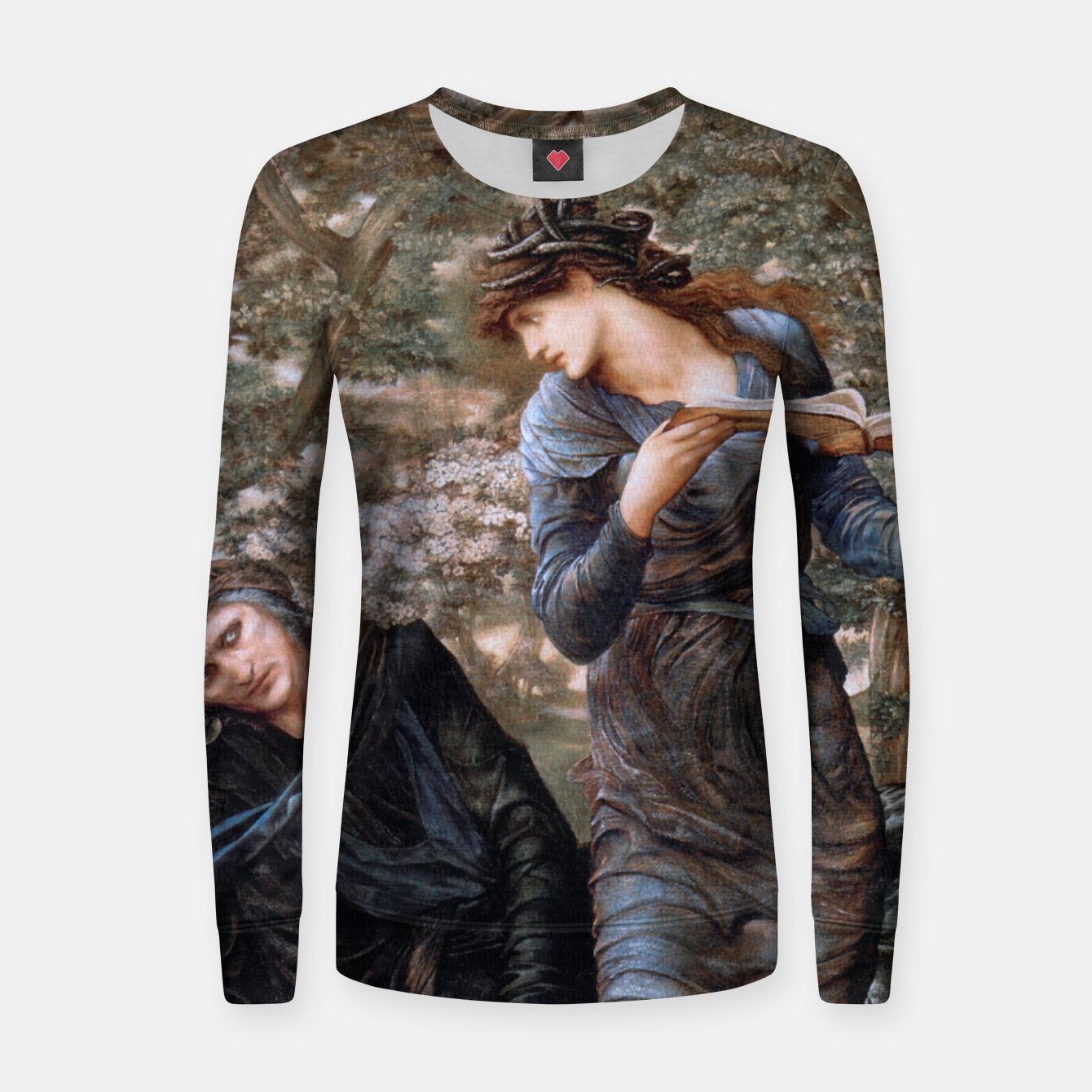 Image of The Beguiling of Merlin by Edward Burne-Jones Women sweater - Live Heroes