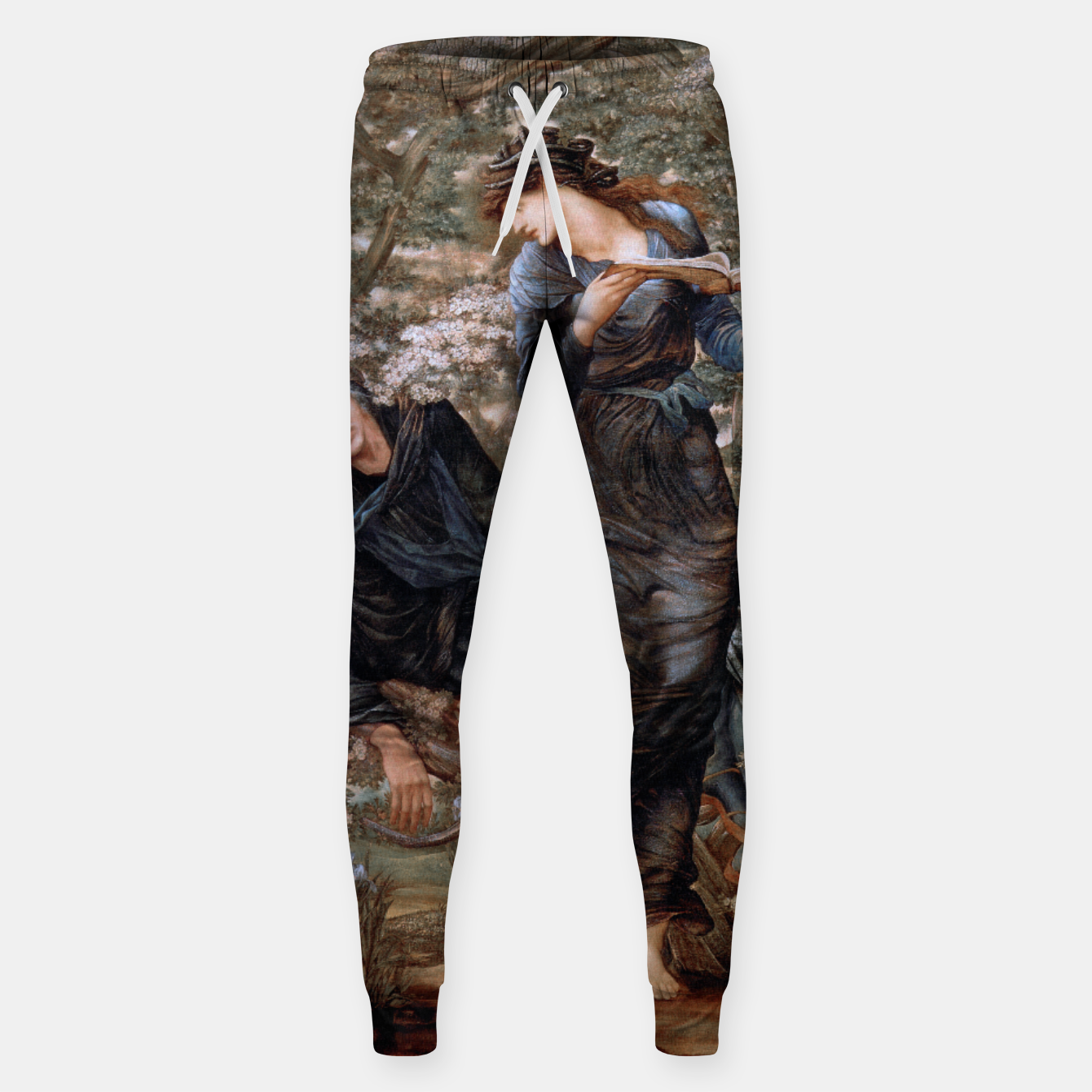 Image of The Beguiling of Merlin by Edward Burne-Jones Sweatpants - Live Heroes