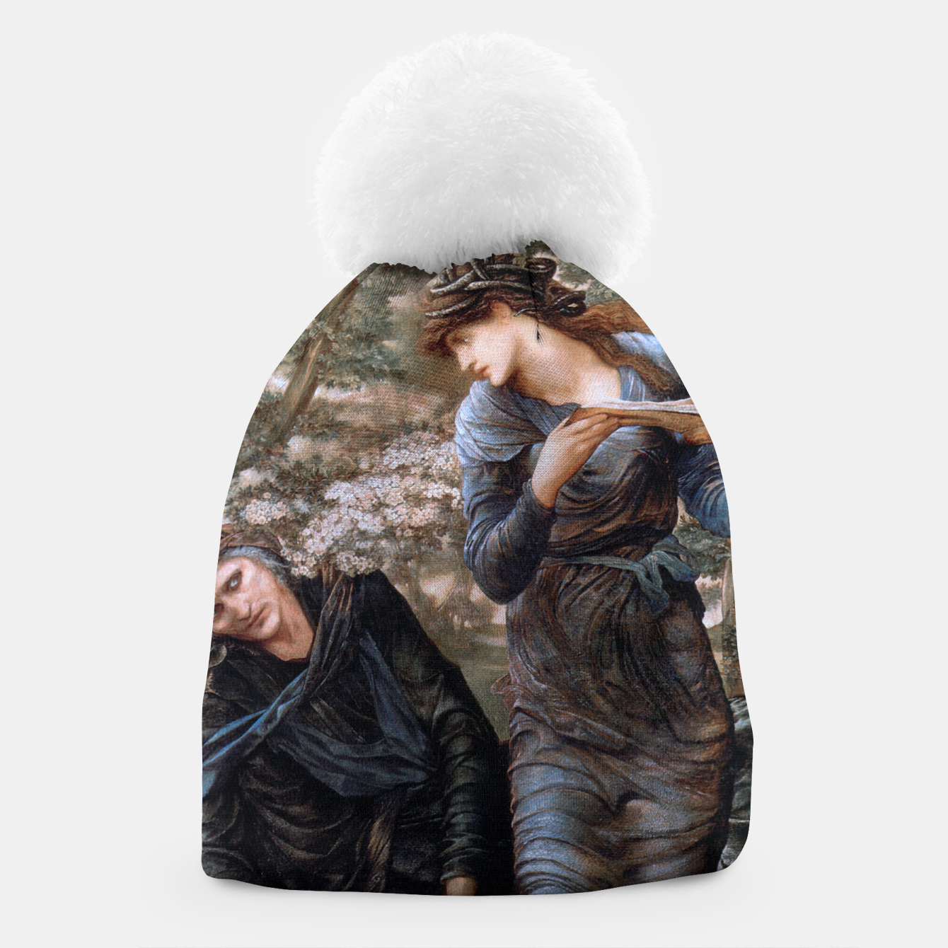 Image of The Beguiling of Merlin by Edward Burne-Jones Beanie - Live Heroes