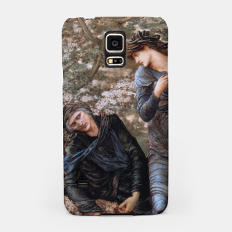 Thumbnail image of The Beguiling of Merlin by Edward Burne-Jones Samsung Case, Live Heroes