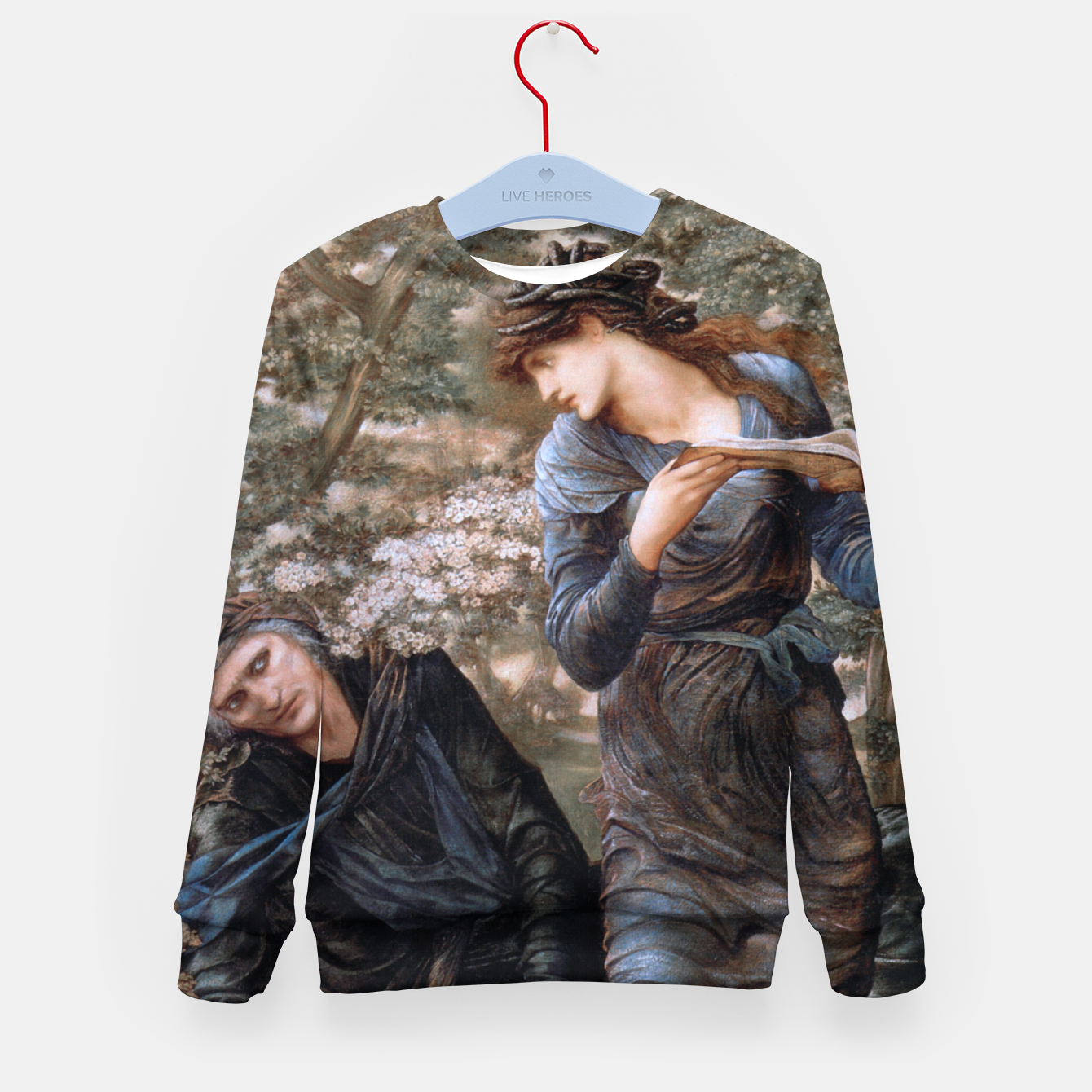 Image of The Beguiling of Merlin by Edward Burne-Jones Kid's sweater - Live Heroes