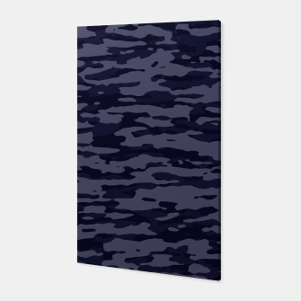 Thumbnail image of Dark Blue Camouflage Pattern  Canvas, Live Heroes