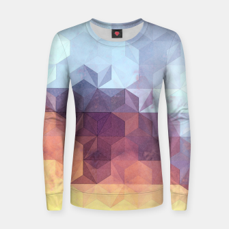 Imagen en miniatura de Abstract Geometric Background LII Women sweater, Live Heroes