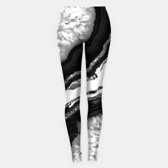 Miniature de image de Agate Glitter Glam #5 #gem #decor #art  Leggings, Live Heroes