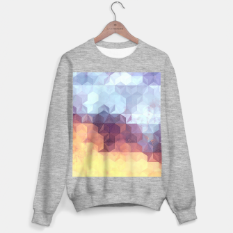 Abstract Geometric Background LII Sweater regular imagen en miniatura