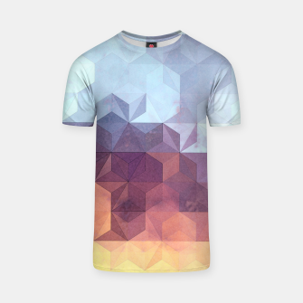 Imagen en miniatura de Abstract Geometric Background LII T-shirt, Live Heroes