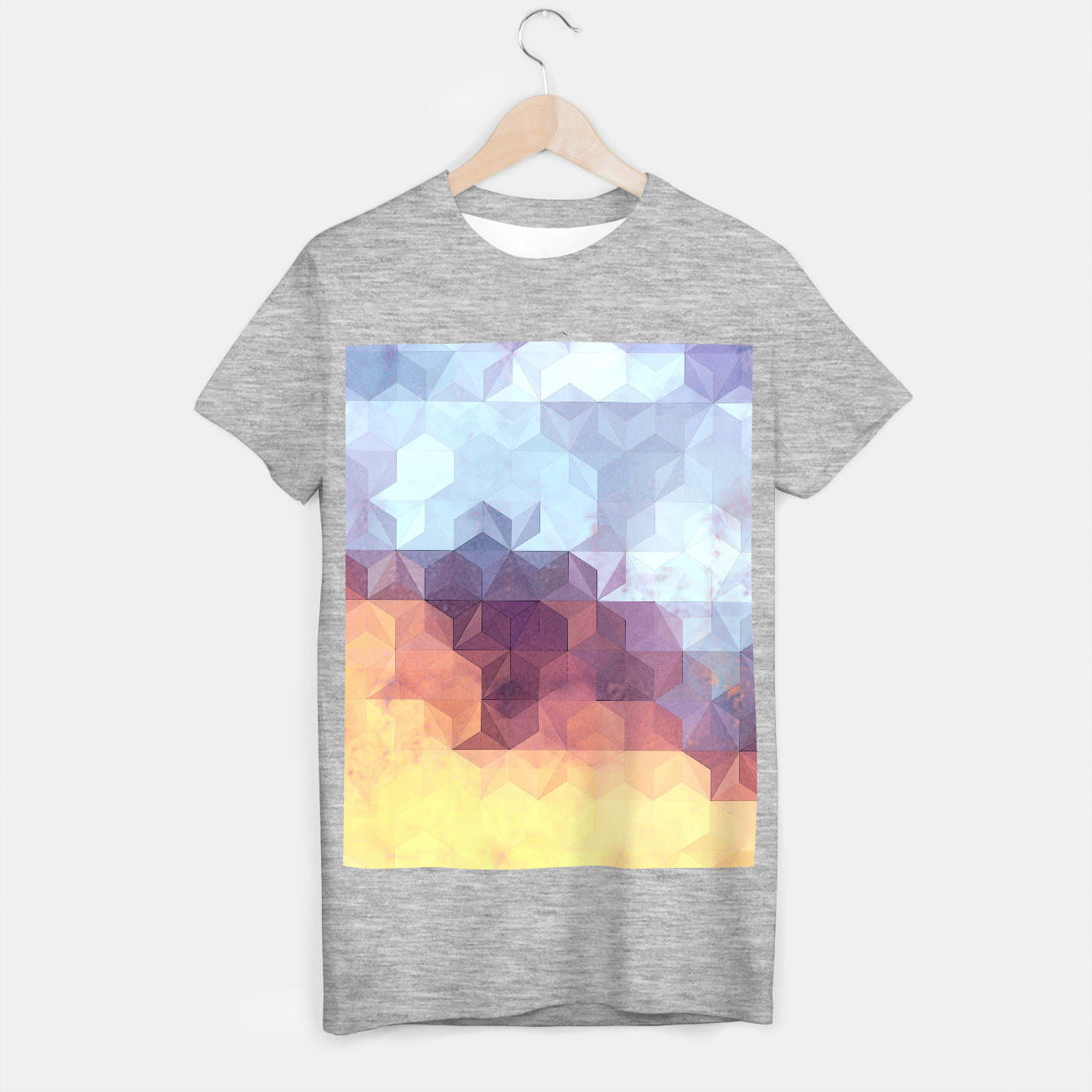 Imagen de Abstract Geometric Background LII T-shirt regular - Live Heroes