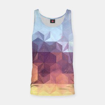Abstract Geometric Background LII Tank Top imagen en miniatura