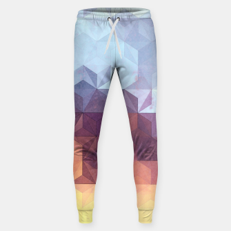 Imagen en miniatura de Abstract Geometric Background LII Sweatpants, Live Heroes