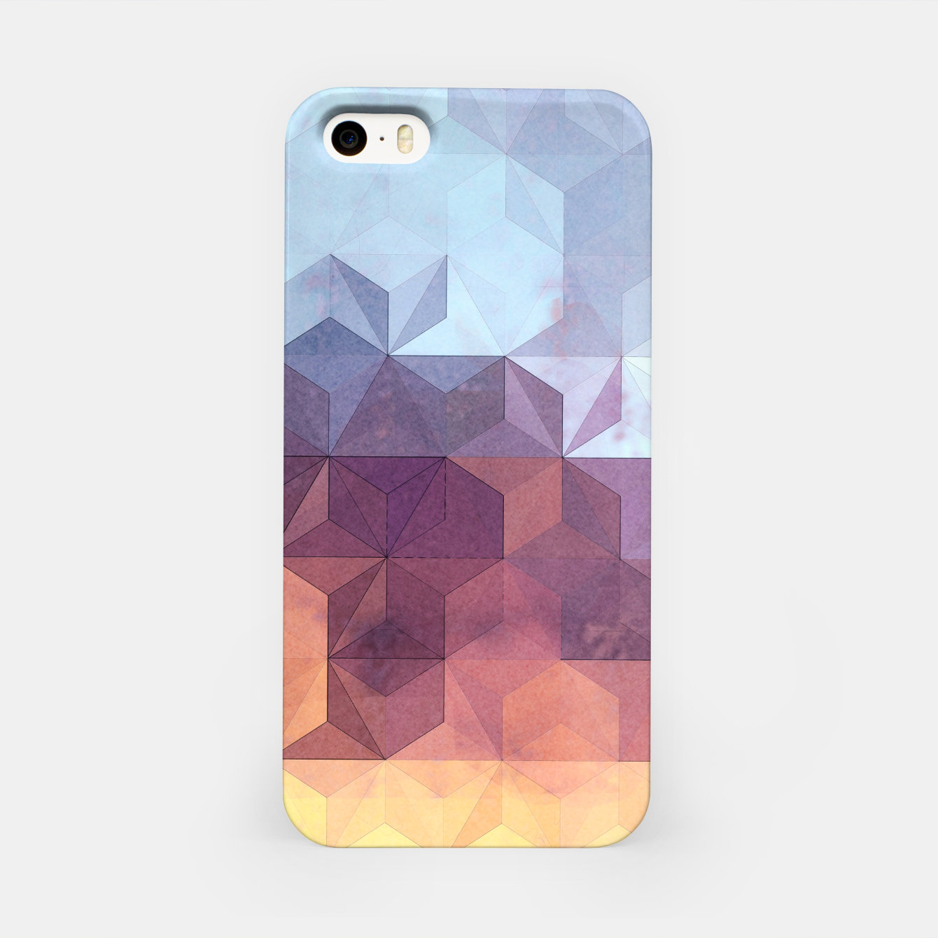 Imagen de Abstract Geometric Background LII iPhone Case - Live Heroes