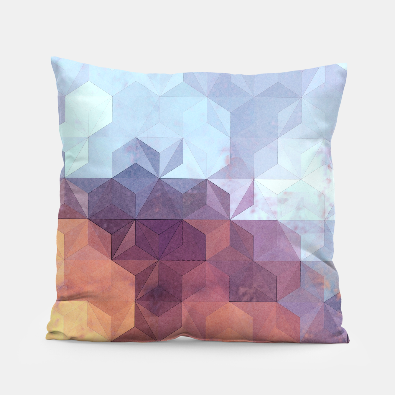 Imagen de Abstract Geometric Background LII Pillow - Live Heroes