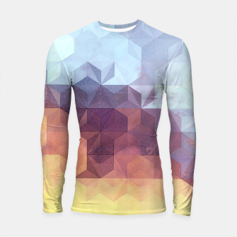 Imagen en miniatura de Abstract Geometric Background LII Longsleeve rashguard , Live Heroes