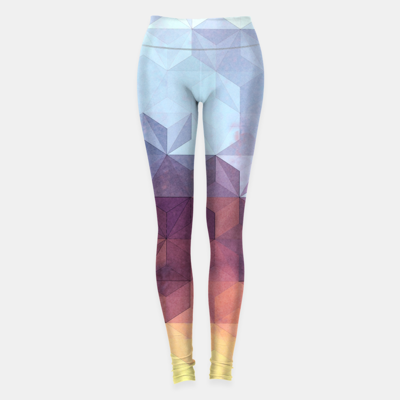Imagen de Abstract Geometric Background LII Leggings - Live Heroes