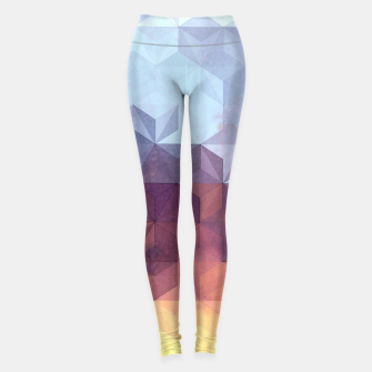 Abstract Geometric Background LII Leggings imagen en miniatura