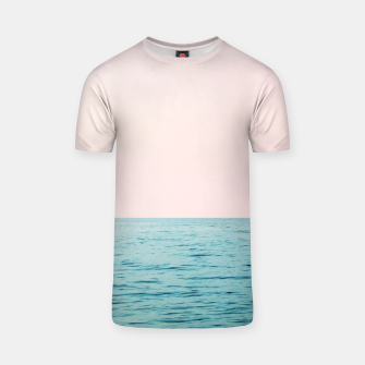 Thumbnail image of Blissful Ocean #1 #wall #decor #art  T-Shirt, Live Heroes