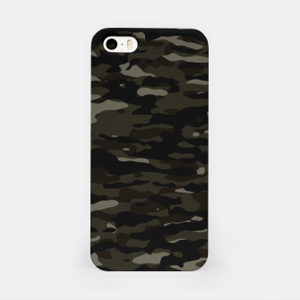 Thumbnail image of Dark Camouflage Pattern iPhone-Hülle, Live Heroes