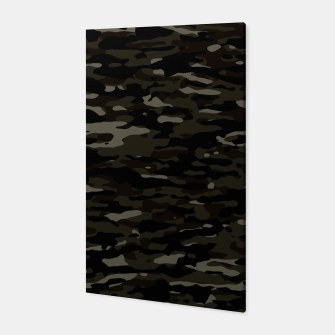 Thumbnail image of Dark Camouflage Pattern Canvas, Live Heroes